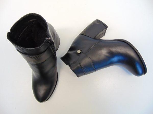 Gamis 3509 skórzane czarne botki