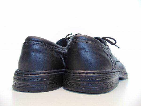 Półbuty Vinci Nikopol 217-01 czarne skórzane