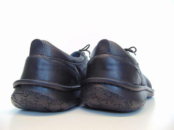 Półbuty Vinci Nikopol 308-01 czarne skórzane