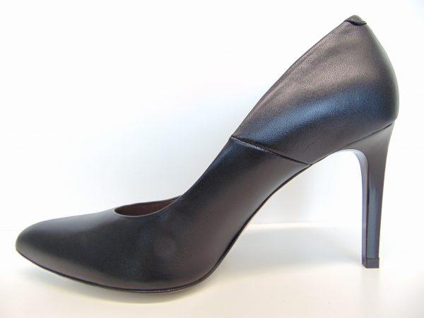 Szpilki Bravo Moda 1373 czarna skóra