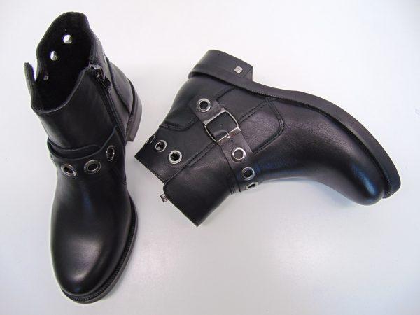 Botki Nessi 18408-1 czarne