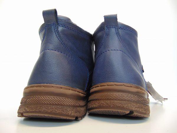 Skórzane trzewiki Łukpol 984 jeans