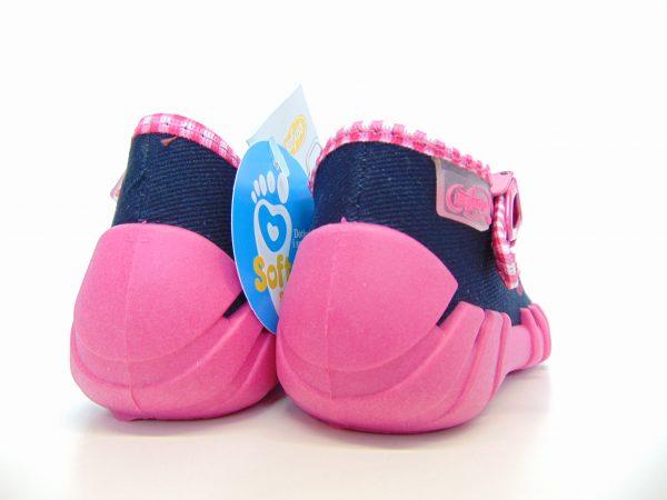 Befado 110P330 buciki pantofelki dziewczęce