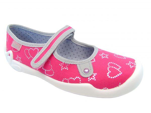 Befado 114Y310 obuwie pantofle dziewczęce