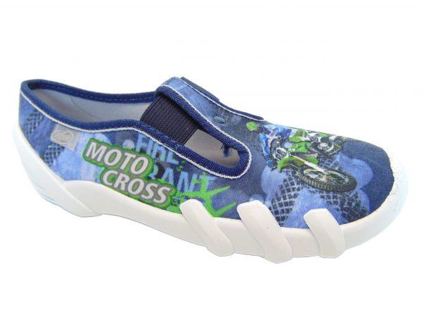 Befado 290Y170 obuwie pantofle chłopięce