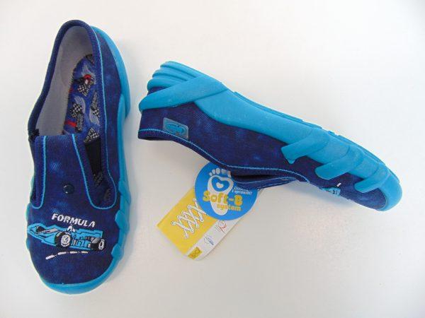 Befado 290X173 obuwie pantofle chłopięce