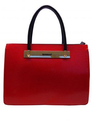 Torebka Monnari BAG B500-005 czerwono-czarna