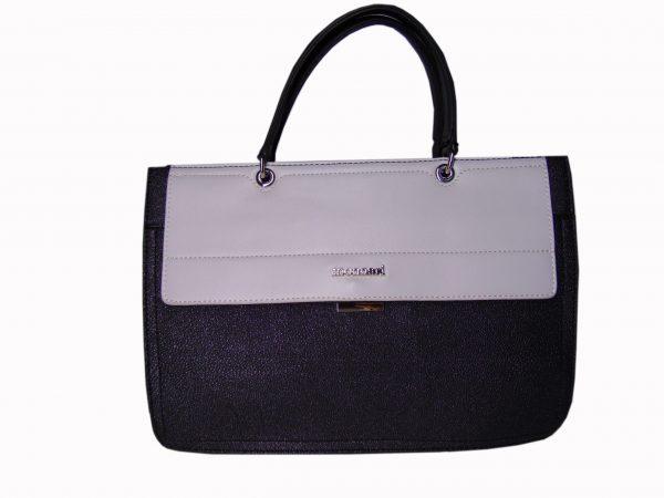 Torebka Monnari BAG2210 czarno biała