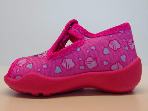 Befado 213P108 buciki dziewczęce różowe