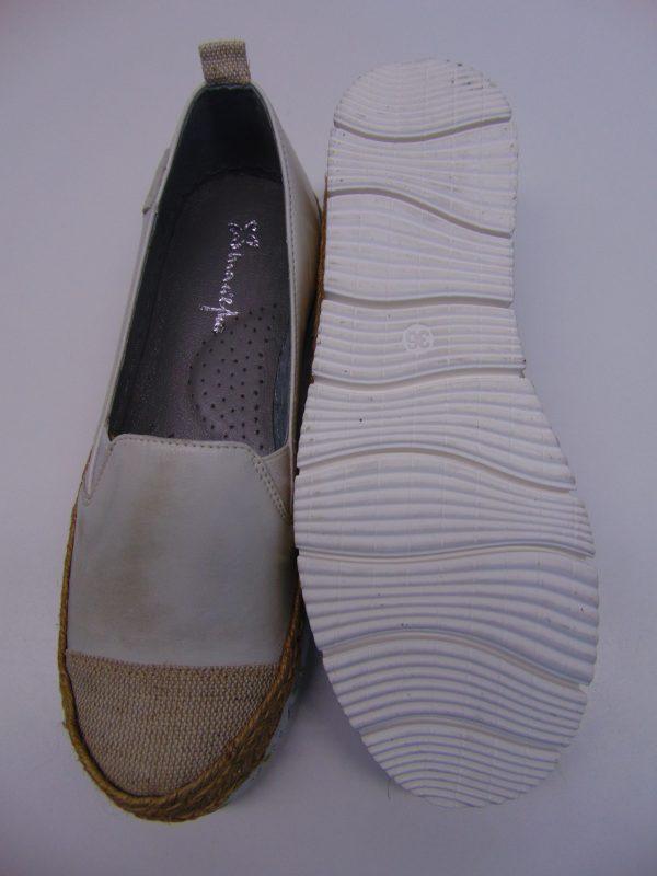 Maciejka 03578-11 półbuty espadryle białe