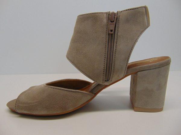 Sandały Maciejka 4038-17 skóra zamsz granat