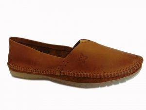 Sandały Stagórs 1359 skóra zamsz czerwony