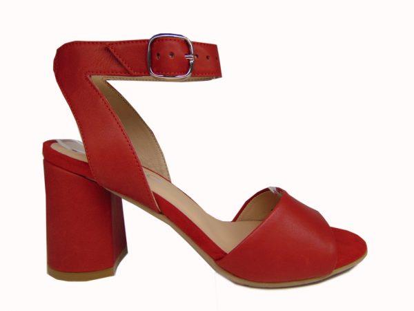 Sandały Ryłko 7NFH6T3KG5F czerwone