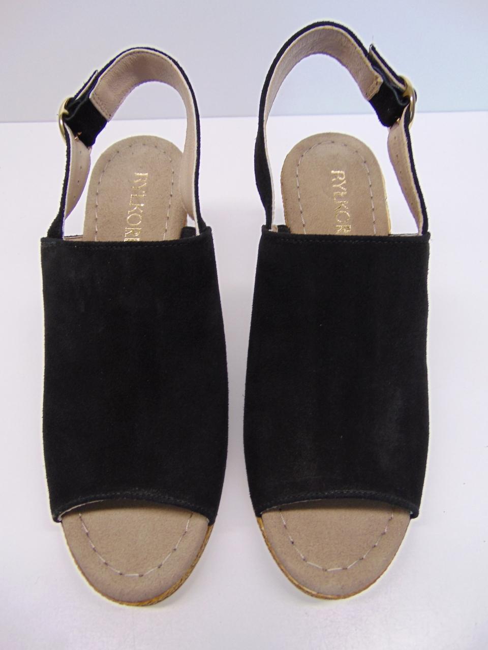 Sandały Ryłko 6FFI17YYZ1F czarne