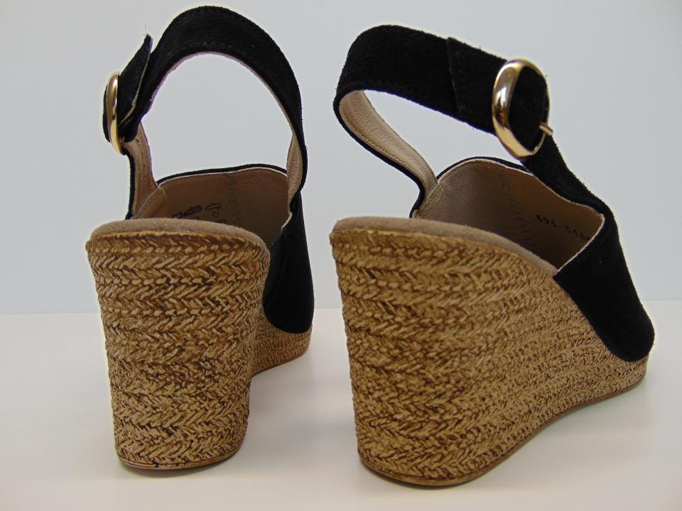Sandały Ryłko 6FFI17YYZ1F czarne | Buty damskie na lato