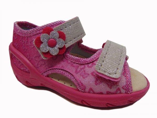 Befado 342P003 sandały dziewczęce złote