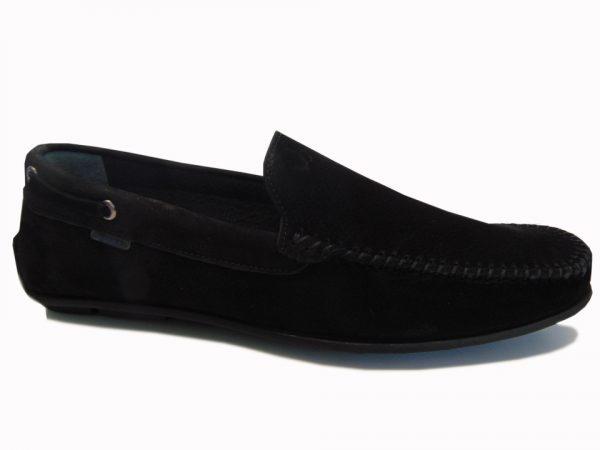 Mokasyny męskie Badura 3630 czarne
