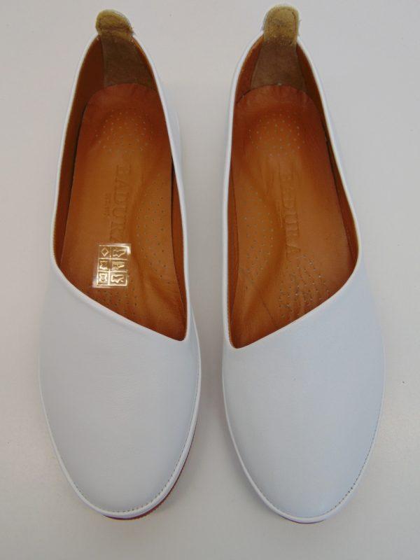 Badura 6489-69 baleriny białe