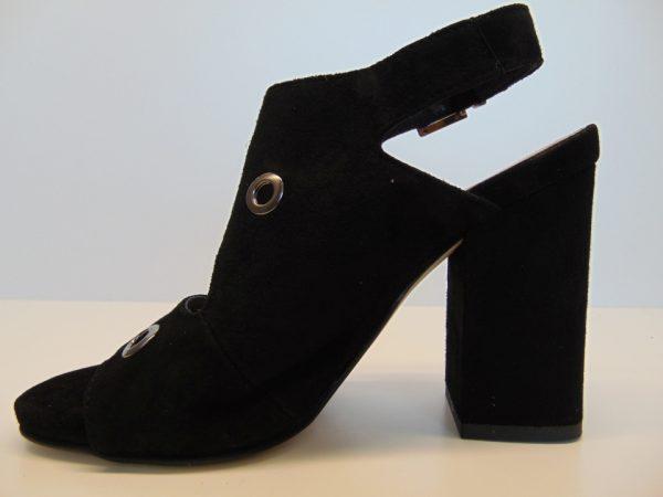 Sandały Nessi 19566-19 czarny