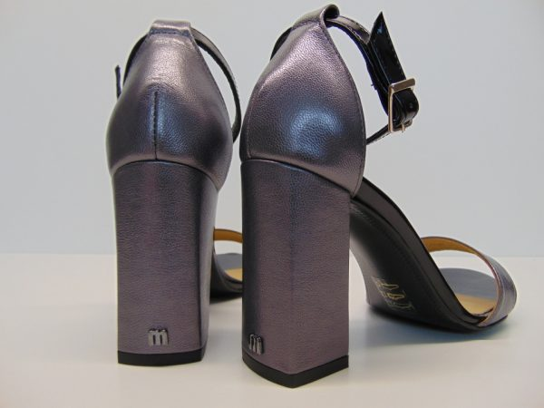 Sandały Maccioni 240 skóra szaro srebrne