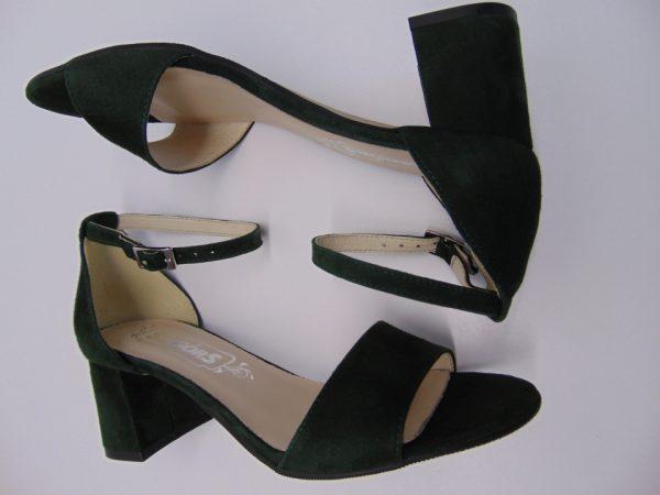 Sandały Maccioni 898 skóra czarne