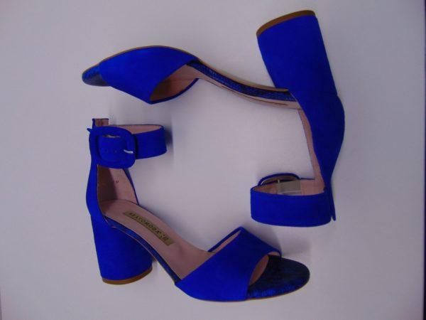 Befado 350P002 sandały chłopięce niebieskie