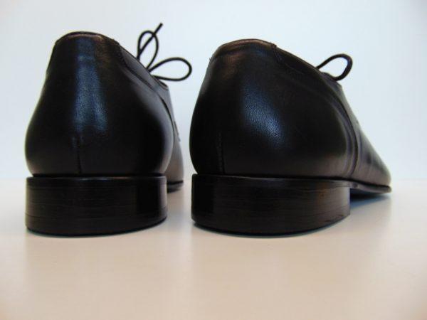 Badura 7793-147 męskie półbuty skóra czarne