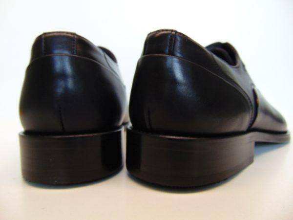 Badura 7792-147 męskie półbuty skóra czarne