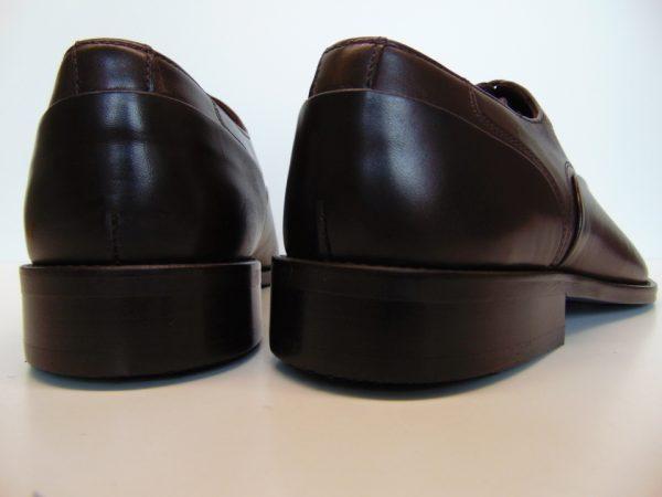 Badura 7792-912 męskie półbuty skóra brąz