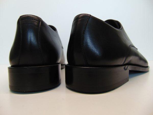 Badura 7797-147 męskie półbuty skóra czarne