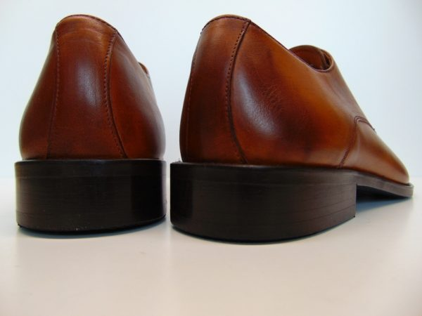 Badura 7797-911 męskie półbuty skóra brąz
