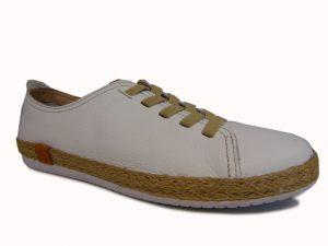 Badura 6503-69 półbuty damskie białe