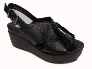 Sandały Nessi 19542-411 czarny