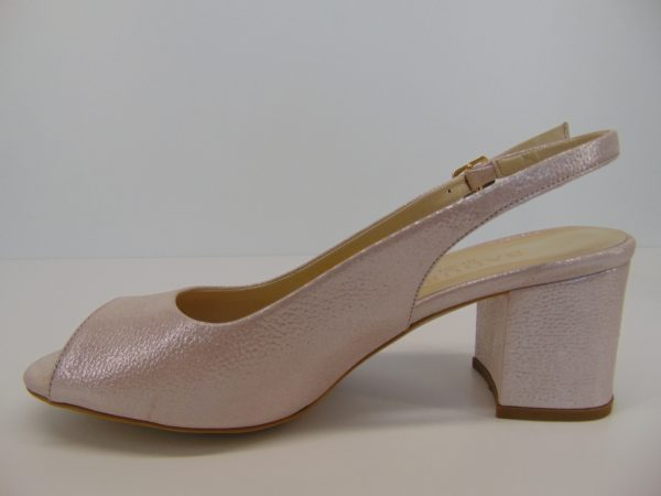 Sandały Carinii B4998 skóra beż