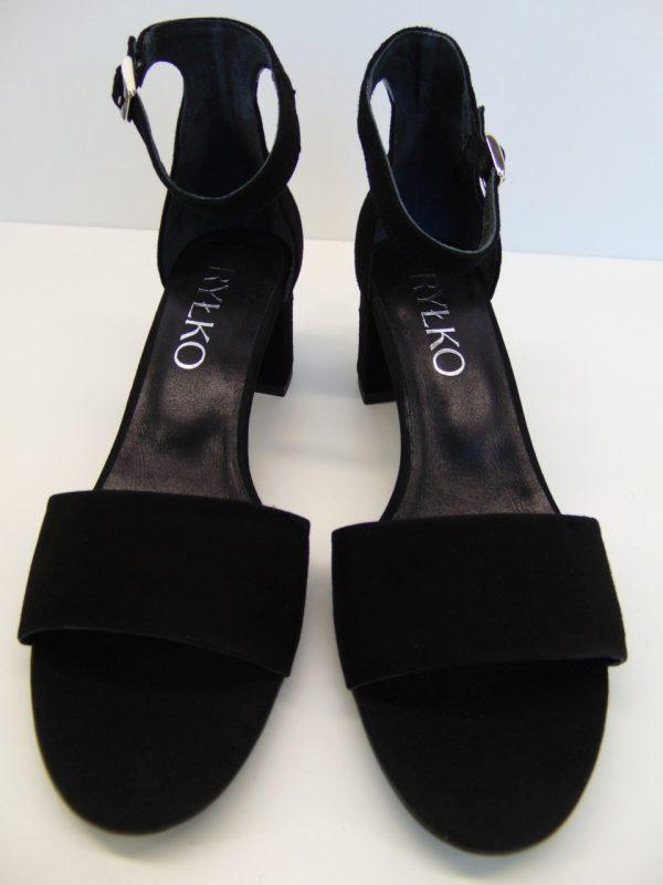 Sandały Ryłko 5DBC7T814F czarne