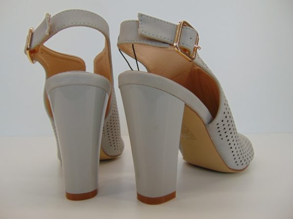Monnari BUT0060-019 sandały jasny szary