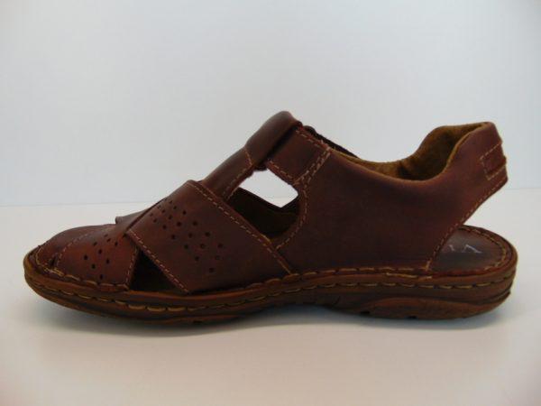 Vinci Nikopol 402-70 sandały ciemny brąz