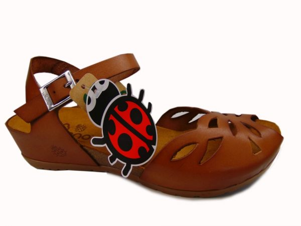 Yokono 003 hiszpańskie sandały żółte/mostaza