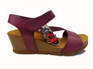 Yokono 196 hiszpańskie sandały camelowe/multi
