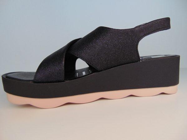 Sandały Carinii 4978 skóra czarne