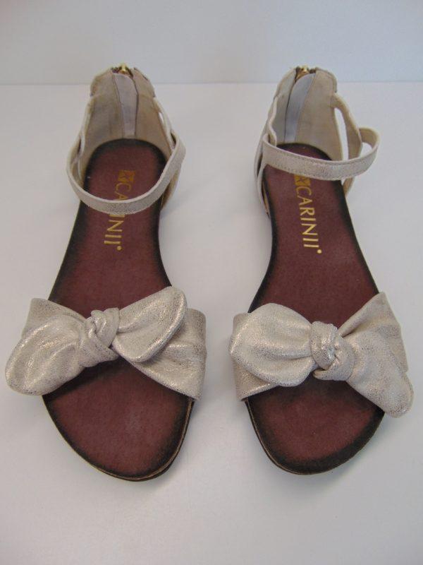 Sandały Carinii 5011 skóra złota
