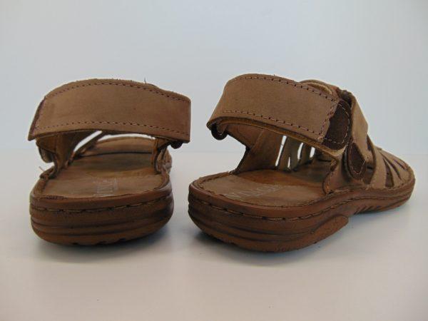 Vinci Nikopol 198-31 sandały jasny brąz