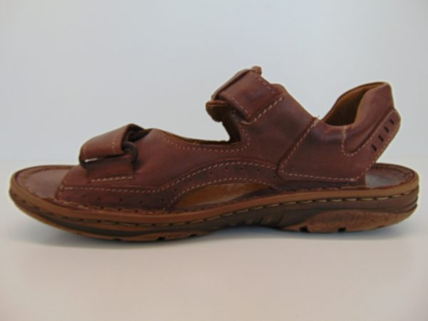 Vinci Nikopol 194-70 sandały ciemny brąz