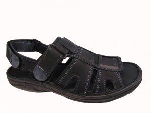 Vinci Nikopol 198-63 sandały czarne