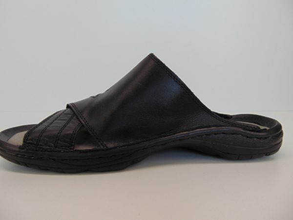 Meexx/Rammit 461-L03 klapki męskie czarne