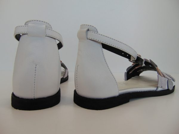 Sandały Nessi 82206 skóra czarne 3