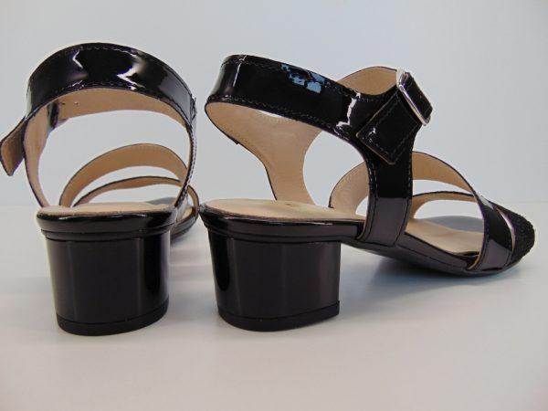 Sandały Gamis 3409 W9 czarny lakier