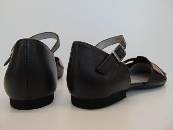 Sandały Maciejka 04235-17 skóra granatowe