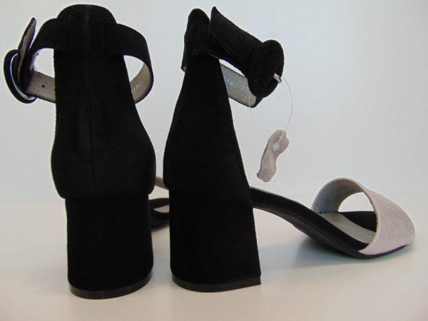 Sandały Carinii B5013 czarno złoty