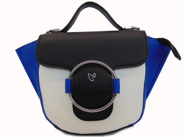 Femestage Eva Minge torebka damska niebieska